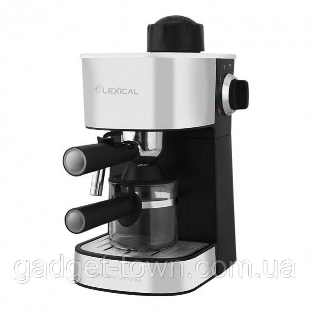 Кавоварка Espresso Lexical LEM-0601 з капучинатором