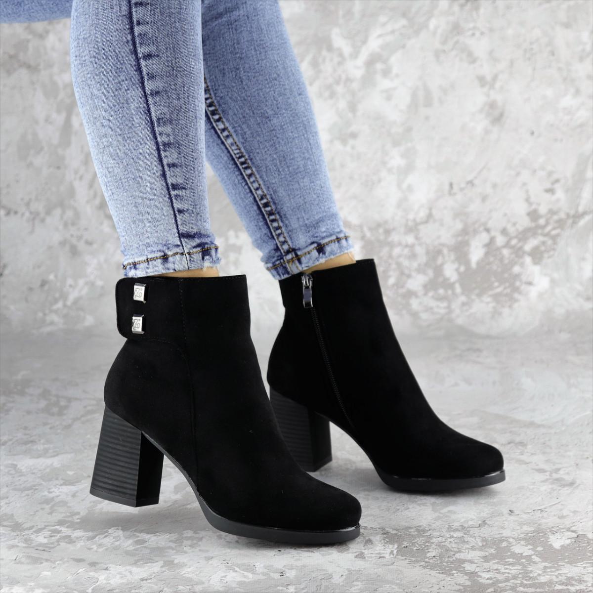 Ботильоны женские Fashion Jakie 2289 36 размер 23,5 см Черный