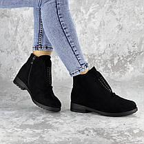 Ботинки женские зимние черные Fobar 2273 (38 размер), фото 2