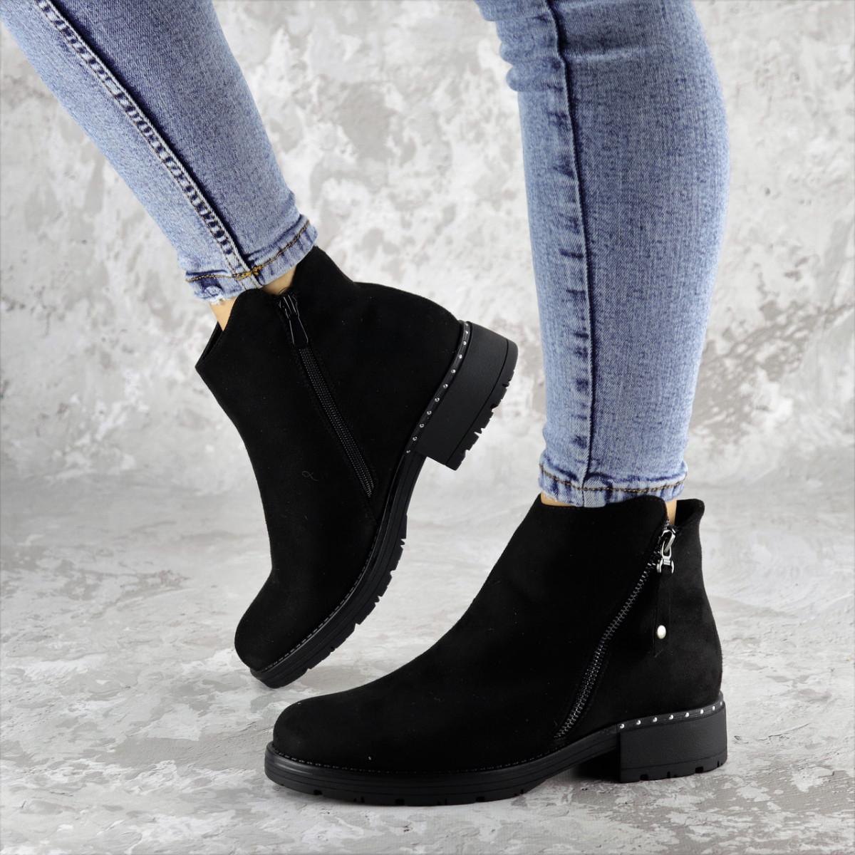 Ботинки женские зимние черные Gertie 2280 (36 размер)