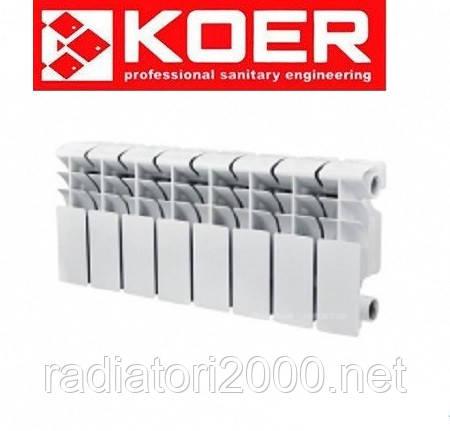 Биметаллический радиатор KOER 200*100 Чехия