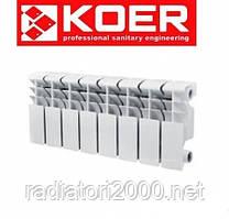 Радиатор биметаллический KOER 200*100 Чехия