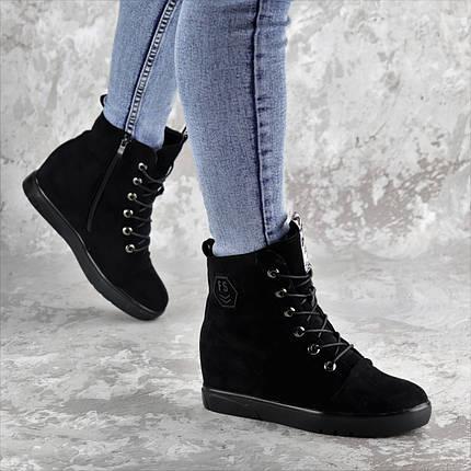 Ботинки женские зимние черные Jimbo 2299 (37 размер), фото 2