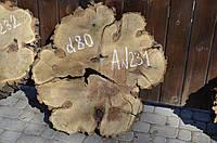 Слэб. Деревянные спилы