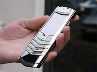 Vertu Signature S Design Stainless Steel. Made in U.K