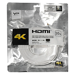 Кабель для телевизора, компьютера Veron HDMI Cable(10m) — White