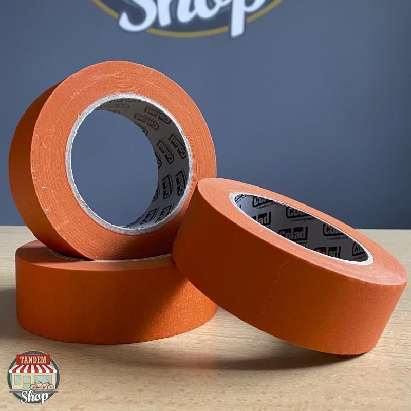 Стрічка малярна термостійка помаранчева Colad Orange™ 100°C, 38 мм x 50 м