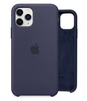 Чехол Silicone Case для iPhone 11 Pro Midnight Blue