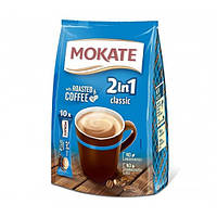 Напиток Кофейный Растворимый Mokate Класический 2в1» сумка 14г/1шт сш/п (1уп/24шт)