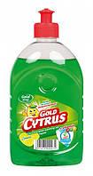 Средство для мытья посуды Gold Drop 500мл Лимон
