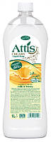 Жидкое мыло для рук Attis Creamy  Молоко и мёд 1л