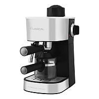 Лучшая кофеварка эспрессо для дома, кофейни или офиса Lexical LEM-0601, капельная кофемашина, капучинатор