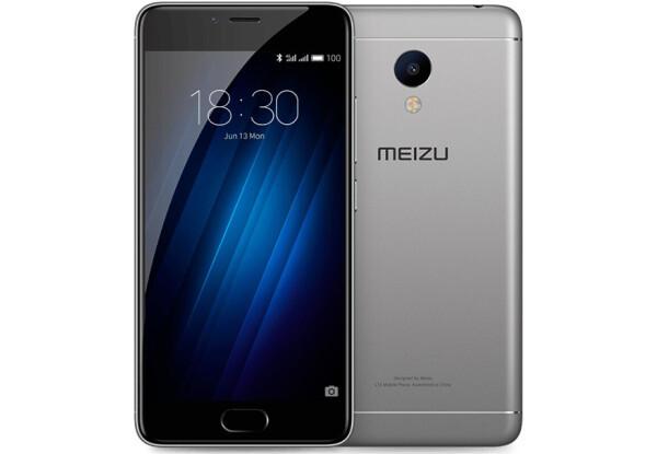 Смартфон Meizu m3s 16Gb Gray Stock B