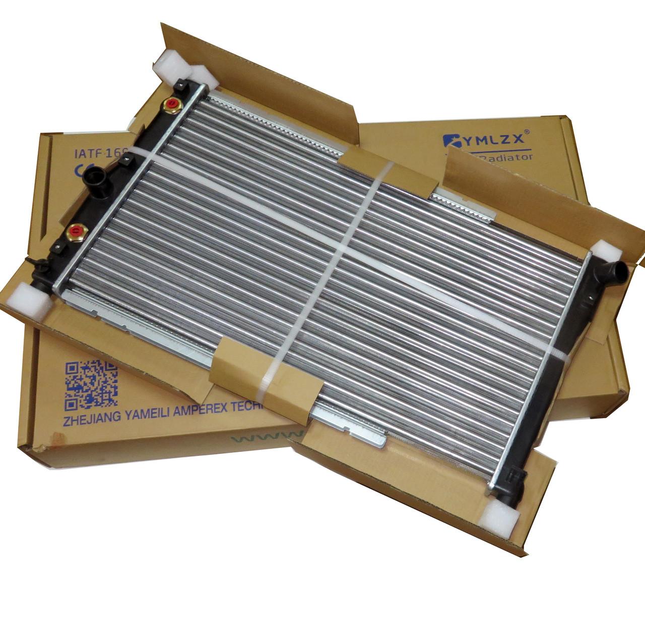 Радиатор основной Нубира 97, Леганза АКПП YMLZX, YML-R247, 96273594, 96351102-