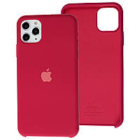 Чехол Silicone Case для iPhone 11 Pro Rouse Red