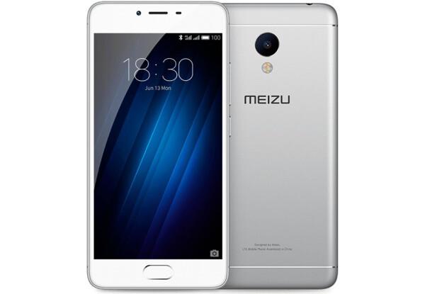 Смартфон Meizu m3s 16Gb Silver Stock А