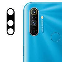 Защитное стекло на камеру для Realme С3 (Гибкое 0.18мм), фото 1