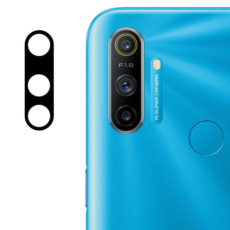 Защитное стекло на камеру для Realme С3 (Гибкое 0.18мм)