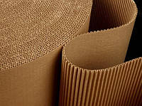 Картонный лист в рулоне 20м*1050мм от производителя