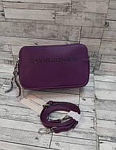 Женская Сумочка  клатч сумка David Jones через плечо кросс-боди. Фиолетовый