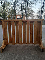Деревянный забор на ножках 2000х750, фото 1