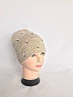 Модна шапка на флісі