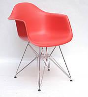 Моноплатисковое кресло на хромированных ножках Leon Chrom ML для баров, кафе, ресторанов, стильных квартир