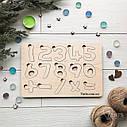 Деревянные цифры, развивающий пазл для изучения цифр, натуральная деревянная развивашка для малыша, фото 2
