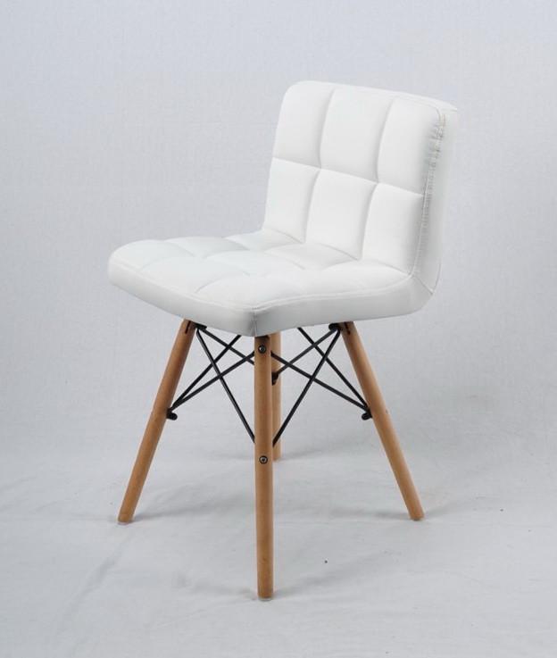 Кресло из эко кожи на деревянных ножках FLEX для баров, кафе, ресторанов, стильных квартир