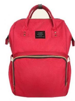 Рюкзак-Сумка для мам, сумка для мам MOTHER BAG СИНЯЯ,РОЗОВАЯ,КРАСНАЯ., фото 2