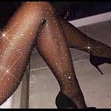 Оригинальные коготки со стразами колготы сексуальное белье, фото 3