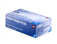 Перчатки нитриловые Ampri Cobal tbasic-plus М (7-8) 200 шт