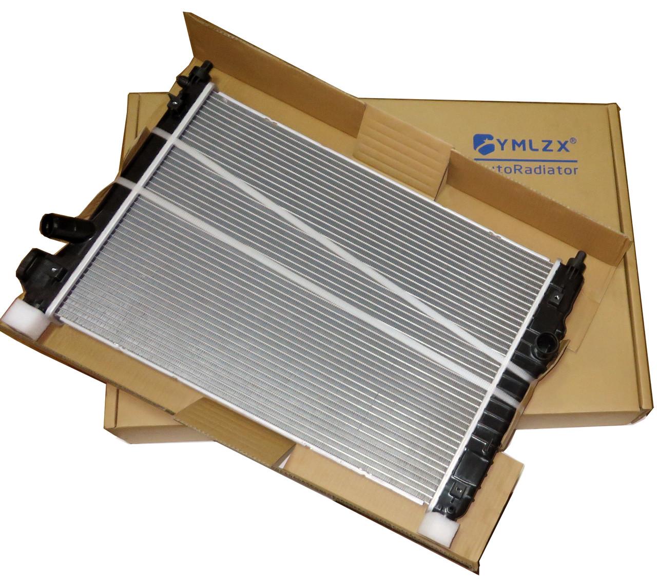 Радиатор основной Авео Т-255 2008 МКПП, YMLZX, YML-BR-905, 95227749-