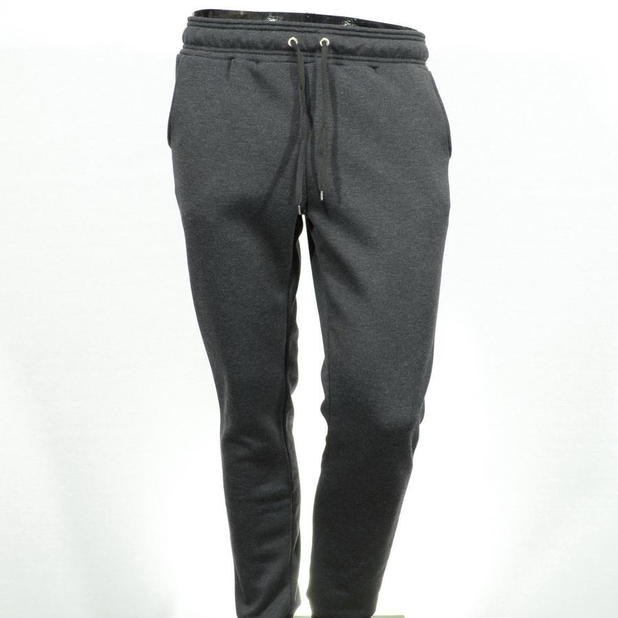 Спортивні штани 01 Т. СІРІ 100% бавовна M(Р)