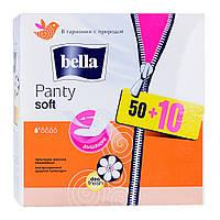 Ежедневные гигиенические прокладки Bella Panty Soft Deo Fresh 50+10 шт