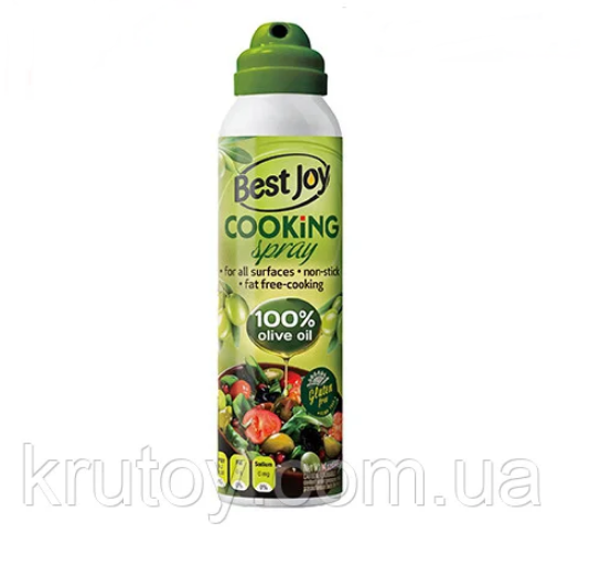 Оливковое масло-спрей без жира Best Joy Cooking Spray 250 ml olive oil