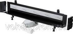 Базовый элемент душевого лотка Advantix Vario  для пристенного монтажа произвольно укорачиваемый 70 мм плоская