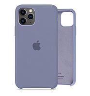 Чехол Silicone Case для iPhone 11 Pro Lavander Gray