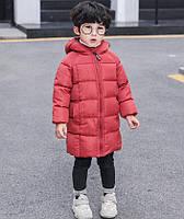 Зимнее пальто бордо 3637