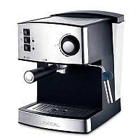 Кофеварка эспрессо для дома, кофейни или офиса Lexical LEM-0602, лучшая капельная кофемашина, капучинатор
