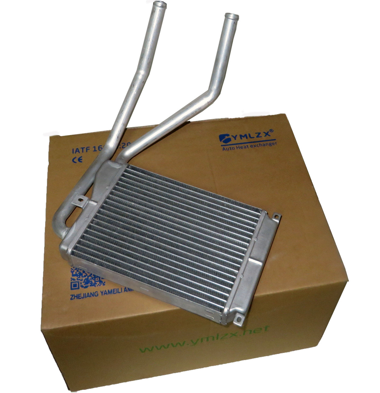 Радиатор печки Нексия с ушками (нов. образца), YMLZX, YML-BH-301, 03059812-10-