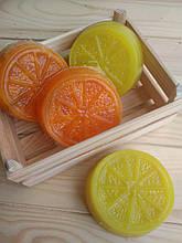"""Масажне мило з люфою """"Апельсин/Лимон"""""""