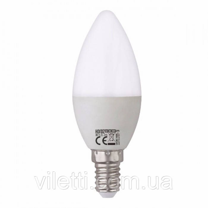 LED лампа свічка З-37 10W 4200K E-14 Horoz Ultra-10