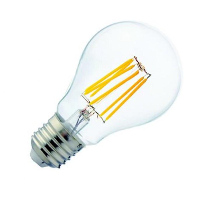 Винтажная LED лампа Filament globe-10 10W Е27 4200К HOROZ
