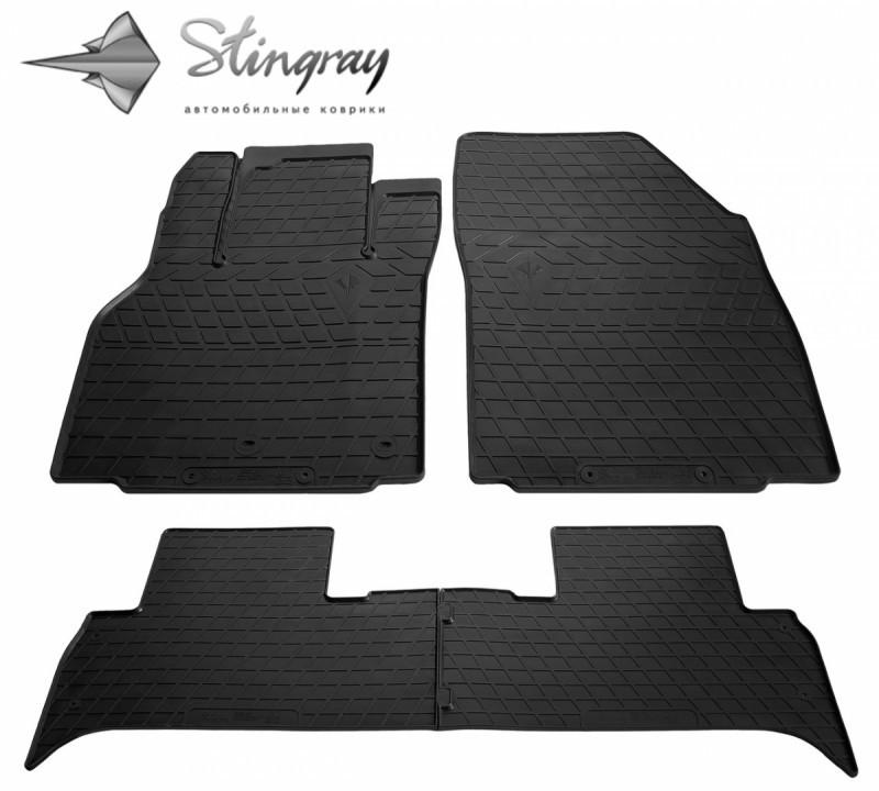 Резиновые коврики в автомобиль Renault Scenic III 2009- (Stingray)