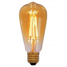Светодиодная винтажная лампа диmmируемая ST64 8W E27 Z-LIGHT