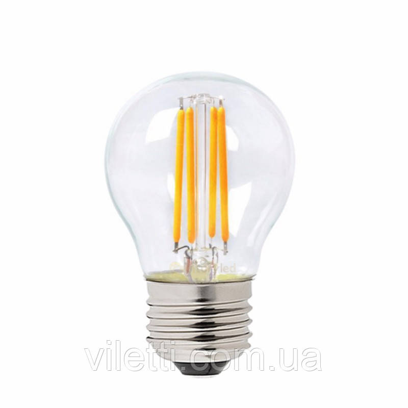 Світлодіодна лампа Filament Mini Globe 4W 4200K E27 450Lm Horoz Electric 001-063-0004-030
