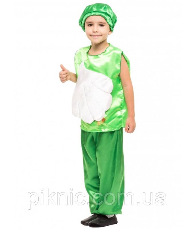 Детский костюм Чеснок для детей 4,5,6,7 лет. Карнавальный костюм Часник для мальчиков 340