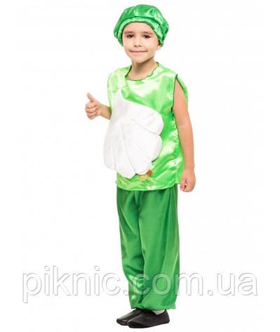 Детский костюм Чеснок для детей 4,5,6,7 лет. Карнавальный костюм Часник для мальчиков 340, фото 2