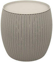 Столик садовый Keter Knit Cozy Single Table 41 L 231362